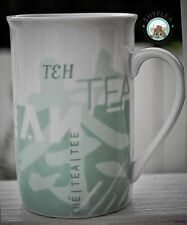 Starbucks Mug TEA Coffee Green Asian Tea The Tee 1998 Cup Slim International