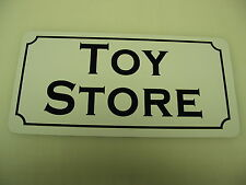TOY STORE Vintage Style Metal Tin Sign 4 Collector Dime & General Store Man Cave