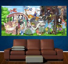 Studio Ghibli personajes-Grande Laminado Poster-Anime-Manga Totoro Kiki