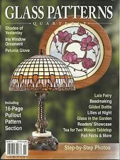 Stained Glass Patterns Quarterly Magazine Spring 2005