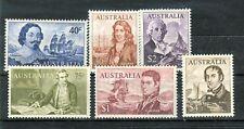 NAVIGATORI - NAVIGATORS OF THE PAST AUSTRALIA 1966 Common Stamps Decimal