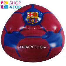FC BARCELONA INFLATABLE CHAIR KIDS CUP OFFICIAL FOOTBALL SOCCER CLUB TEAM NEW