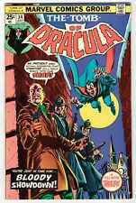 Marvel - TOMB OF DRACULA #34 - FN 1975 Vintage Comic