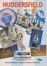 Huddersfield Town V AFC Bournemouth 90-91 de la Liga Match