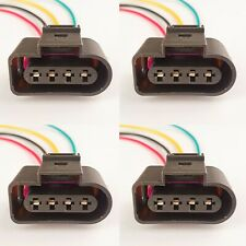VW Golf Ignition Coil Wiring Connector Pre-wired Coil Connector Plug X 4