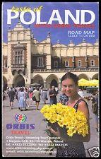 Verkehrskarte, Polen, um 2000