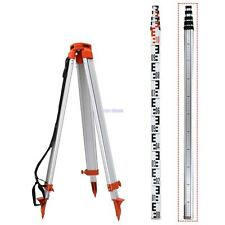 5M Staff 1.65M Aluminum Tripod For Laser Level Levelling Construction Measuring