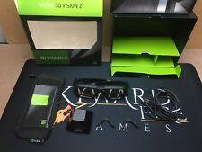 Boxed NVIDIA 3D vision 2 Glasses Kit + IR Unit Wireless Emitter