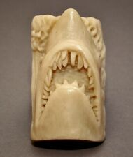 JAWS SOAP SILICONE MOULD RESIN PLASTER CLAY WAX MOLD SHARK