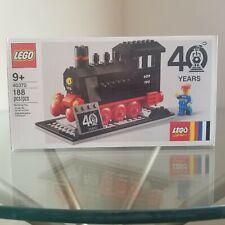 Lego 40370 40 Year Steam Engine Train Exclusive Lego System - NEW