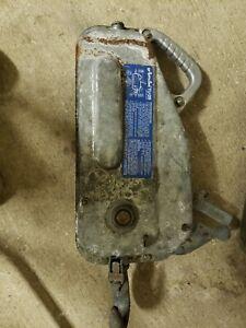 GRIPHOIST / TIRFOR TU28 Manual Cable Hoist, 8000 lb. Pull Capacity