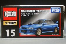 Tomica Premium 15 Subaru Impreza 22B STi Version