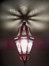 Lustre Marocain fert forgé lampe lanterne plafonnier applique luminaire b