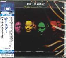 MR.MISTER-I WEAR THE FACE -JAPAN CD B63