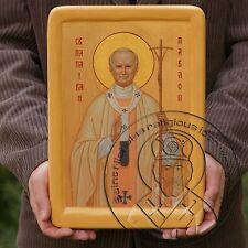 POPE SAINT JOHN PAUL II Byzantine Catholic Religious Icons Artwork Wedding Gifts