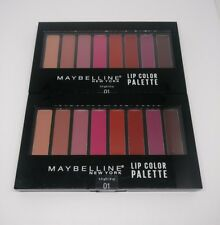 2X Maybelline New York Lip Color Palette 01 Colors Nude To Wine New Lot of 2