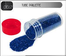 paillettes fines bleues environ 16 grammes decoration de table loisirs créatifs