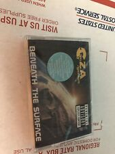 GZA /GENIUS BENEATH THE SURFACE AUDIO CASSETTE SINGLE.  FACTORY SEALED