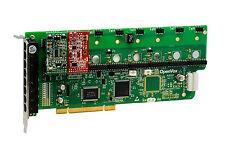 OpenVox A800P11 8 Port Analog PCI Base Card + 1 FXS + 1 FXO, Ethernet (RJ45)