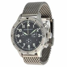 Relojes de pulsera de plata cronógrafo Pilot