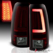 For 03-06 Silverado/Sierra R/S LED Tail Lights w/Fiber-Optic Tube & LED Signal