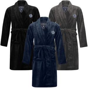 Tokyo Laundry Dressing Gown Mens Thick Soft Luxury Bath Robe Fleece Kimono Long