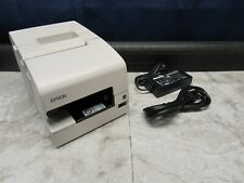 Epson Tm H6000iv Point Of Sale Usb Receipt Printer Pos M253a With Pwr Supply