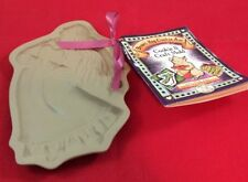 Brown Bag Cookie Art 1987 Angel With Heart Clay Shortbread Mold NIB