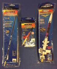 Estes Fletcher, Mini Max, & Photon Probe Flying Model Rocket Kit Lot