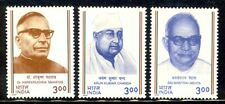 India 2000 Socio Political Personalities stamps 3v MNH