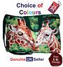 Giraffe Tote Bag, Zip Top Tote Bag, Handmade Giraffe Bag, Choose Your Colour,