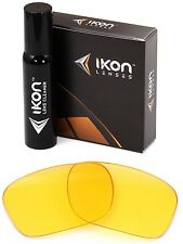 Polarized IKON Replacement Lenses For Oakley Necessity Sunglasses HD Yellow