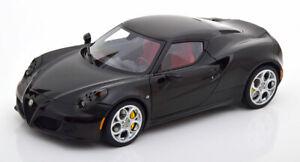 1:18 AUTOart Alfa Romeo 4C 2013 black