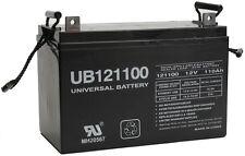 UPG UB121100 D5751 AGM DEEP CYCLE 12V 110AH LEAD ACID BATTERY SOLAR PV HOME