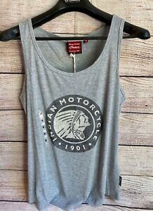 INDIAN MOTORCYCLE WOMEN'S ICON TANK TOP, GRAY, M