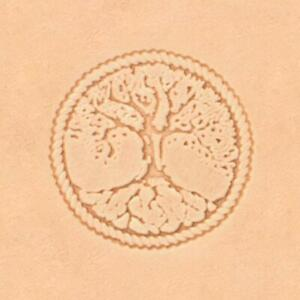 Ivan 3D Leather Stamp - Tree of Life (8686-00)