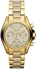 Michael Kors Ladies' Bradshaw Gold Tone Chronograph Designer Watch MK5798