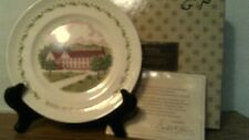 "Vtg Avon 10th Anniversary Plate-""The California Perfume Co""-In Box-Free Shipping"
