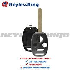 Remote Key Fob Shell Pad Case for 2008 2009 2010 2011 2012 Honda Accord