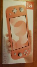 🔥🔥Nintendo Switch Lite Coral/Pink Console 32GB - New - IN HAND FREE SHIPPING
