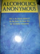 Alcoholics Anonymous 4th edition (2001, Hardcover)