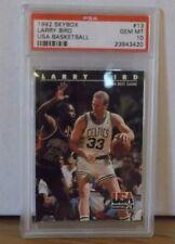 1992 Skybox #13 - LARRY BIRD - USA BASKETBALL - PSA 10 Gem Mint