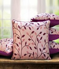 The purple tree Polyester And Polyester Blend Cushion Cover, 16 x 16In, 5 Pieces