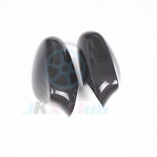For BMW 1 Series E81 E82 E87 E88 2005-09 car mirror cover Frame cap carbon fiber