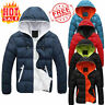 Men's Hoodie Bubble Coat Padded Parka Puffer Jacket Winter Warm Quilted Outwear