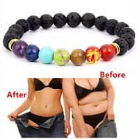 7 Chakra Healing Balance Beads Buddha Bless Lose Weight Women Bracelet Natural
