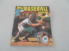 TOPPS 1982 BASEBALL STICKER ALBUM