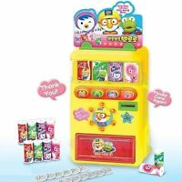Pororo Talking Vending Machine Toy Famous Korean Character Role-play Kids_NV