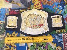 WWE Wrestling Champion Spinner Spinning Center RAW Champ Belt Jakks Pacific 2005