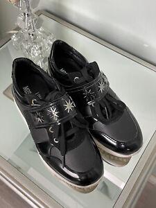 Love Moschino Sneaker 37 Schwarz Weiß Silber Schuhe Blogger Style